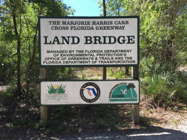 Land Bridge Sign
