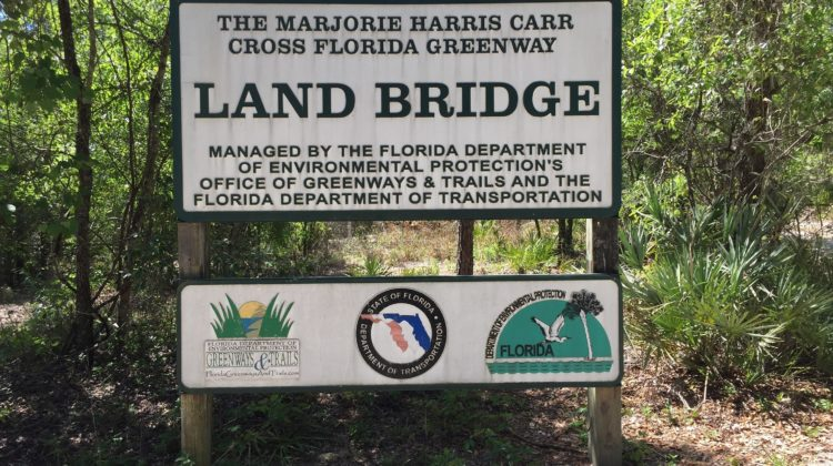 Land Bridge Sign
